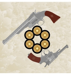 Revolvers and revolver ammunition vector