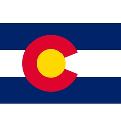 Coloradan state flag vector