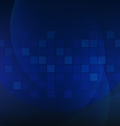 Dark blue dinamic poster vector