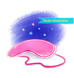 Eye mask vector