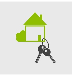 Real estate logo designsymbol vector