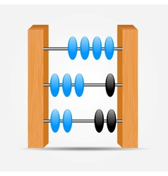 Abacus icon vector