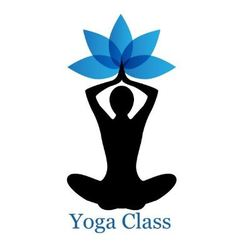 Yoga lotus icon vector