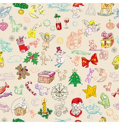 Christmas rich pattern vector