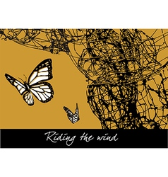 Riding the wind vector