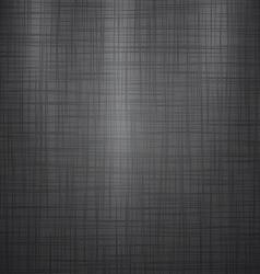 Dark linen background vector
