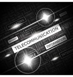 Telecommunication vector