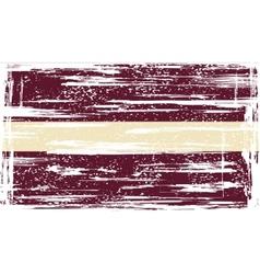 Latvia grunge flag vector