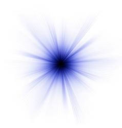 Abstract burst on white eps 8 vector
