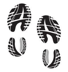 Otisak cipela5 vector