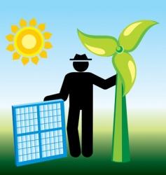 Renewable energy vector