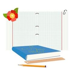 Writing pad vector