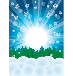 Christmas season background vector