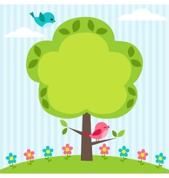 Tree frame vector
