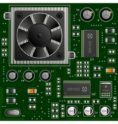 Electronic components vector