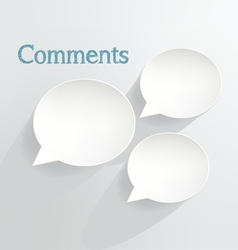 Comments vector