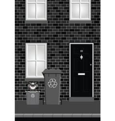 Residential house vector
