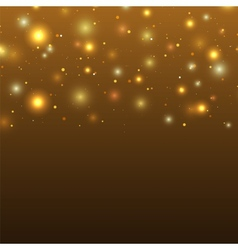 Background with particles and stars vector