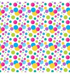 Seamless variegated polka dot pattern  eps10 vector