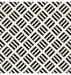 Abstract wicker seamless pattern vector