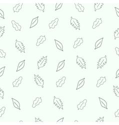 Pattern leaf vector