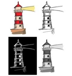 Lighthouse vector