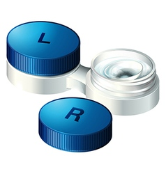Contact lenses vector