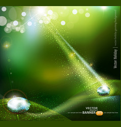 Magic drop background vector