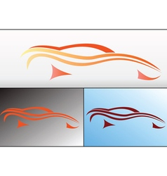 Car logo design vector