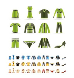 Clothing icons - icon se vector