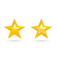 Pair of stars vector