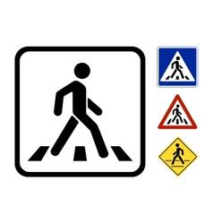 Pedestrian symbol vector