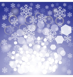 Blue xmas background vector