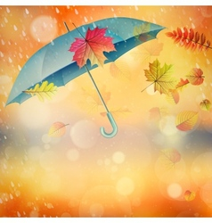 Elegant opened umbrella eps 10 vector