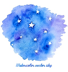 Abstract watercolor background with paper texture vector