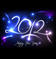 2012 new years banner vector