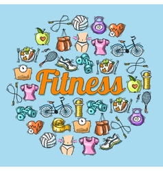 Fitness sketch vector