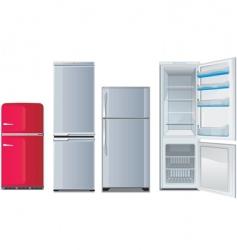 Refrigerators vector
