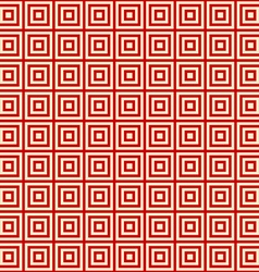 Red background endless east pattern vector