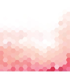 Pink and white grid pattern vector