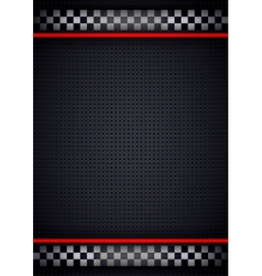 Racing background vertical metallic perforated vector