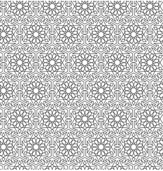 Arabian seamless net pattern vector
