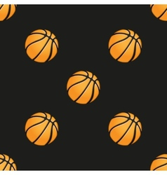 Universal basketball seamless patterns vector