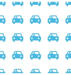Unique car seamless pattern vector