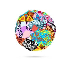 Abstract ball triangles vector