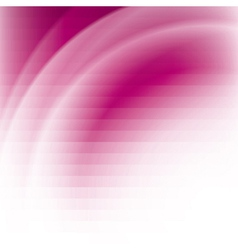 Pink business background with stripes and waves vector