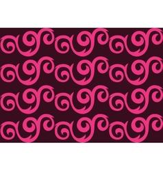 Pink ornate seamless pattern vector