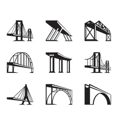 Different bridges in perspective vector