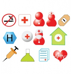 Healthcare design vector