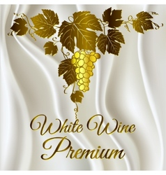 Wine grapes vector